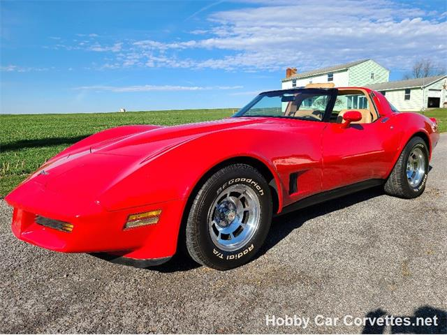 1981 Chevrolet Corvette (CC-1429392) for sale in martinsburg, Pennsylvania