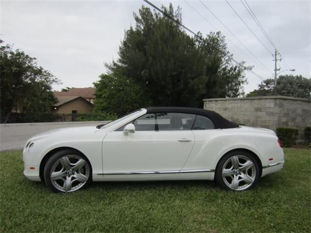 2012 Bentley Continental (CC-1429577) for sale in Delray Beach, Florida