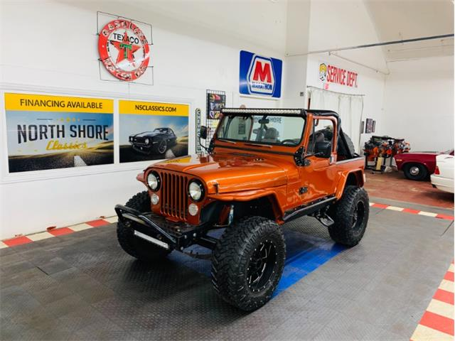1986 Jeep CJ7 (CC-1429705) for sale in Mundelein, Illinois