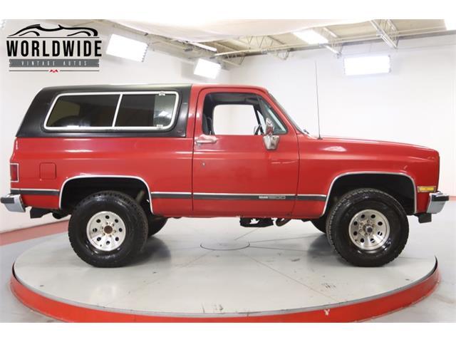 1986 GMC Jimmy (CC-1429922) for sale in Denver , Colorado