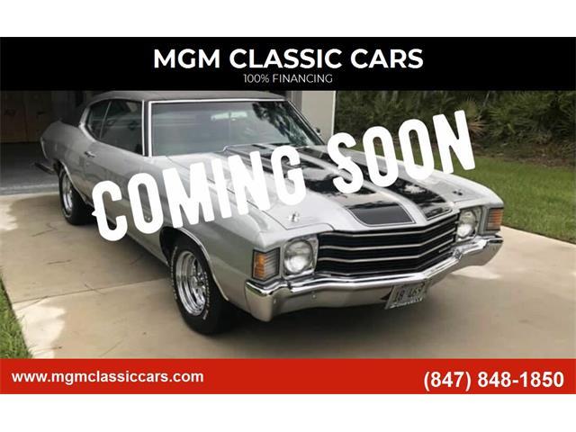 1972 Chevrolet Chevelle (CC-1429946) for sale in Addison, Illinois