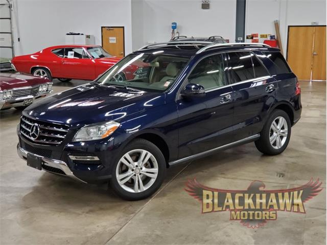 2013 Mercedes-Benz ML350 (CC-1431182) for sale in Gurnee, Illinois