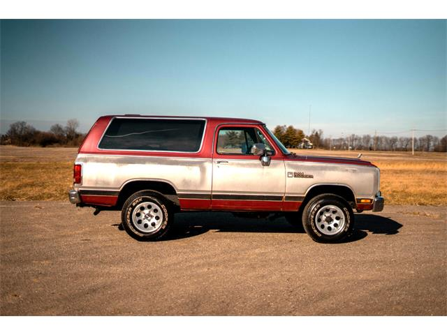 1989 Dodge Ramcharger (CC-1431211) for sale in Cicero, Indiana