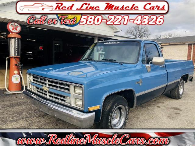 1987 Chevrolet Pickup (CC-1431215) for sale in Wilson, Oklahoma