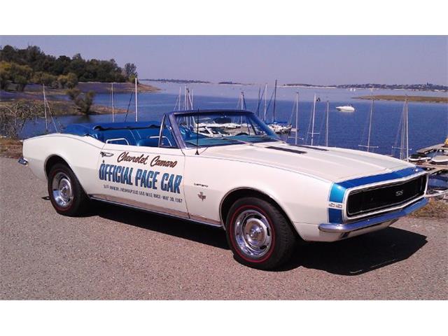 1967 Chevrolet Camaro (CC-1431298) for sale in Cadillac, Michigan