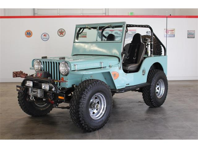 1948 Willys-Overland CJ2A (CC-1431301) for sale in Fairfield, California