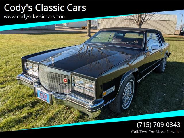 1985 Cadillac Eldorado (CC-1431339) for sale in Stanley, Wisconsin