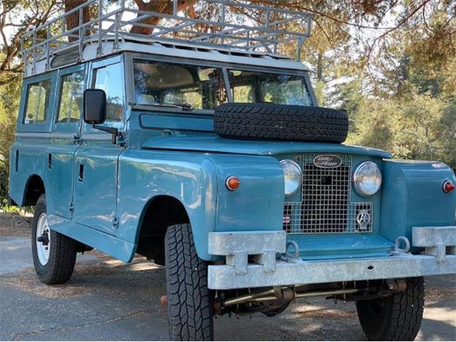 1963 Land Rover Series IIA (CC-1431370) for sale in Cadillac, Michigan