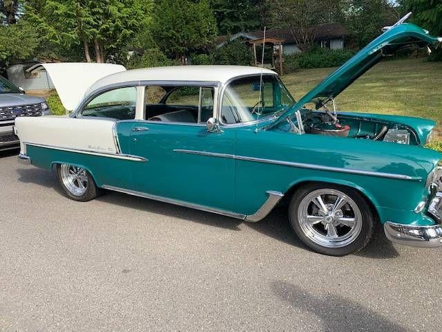 1955 Chevrolet Bel Air (CC-1431377) for sale in Cadillac, Michigan