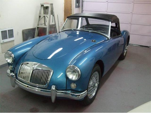 1957 MG MGA (CC-1431378) for sale in Cadillac, Michigan