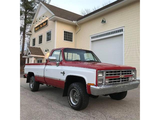 1987 Chevrolet Silverado (CC-1431380) for sale in Cadillac, Michigan