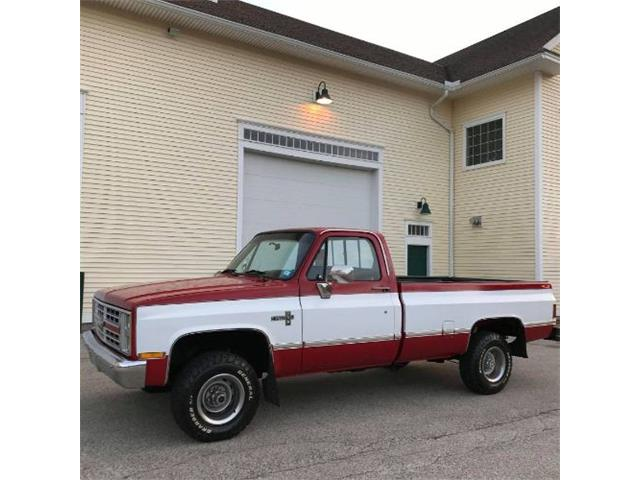 1987 Chevrolet Silverado (CC-1431380) for sale in Cadillac, Michigan