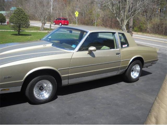 1981 Chevrolet Monte Carlo (CC-1431439) for sale in Cadillac, Michigan