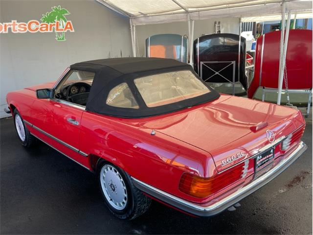 1989 Mercedes-Benz 560 (CC-1431594) for sale in Los Angeles, California
