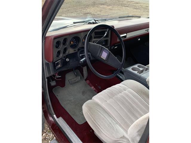 1986 Chevrolet Blazer (CC-1431661) for sale in Corvallis, Montana