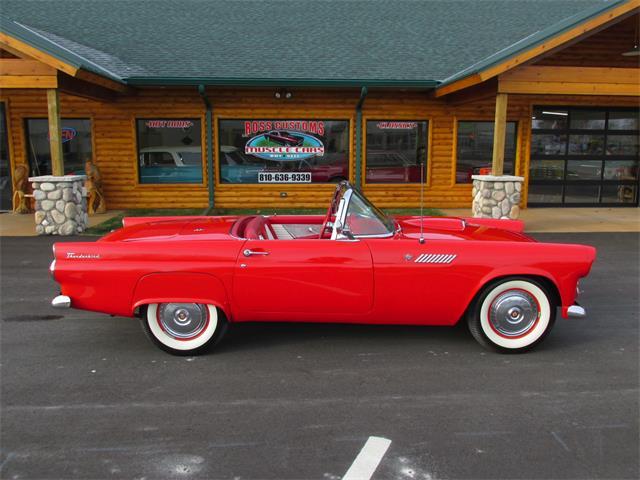 1955 Ford Thunderbird (CC-1431665) for sale in Goodrich, Michigan