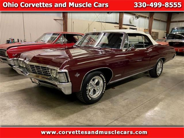 1967 Chevrolet Impala SS (CC-1431747) for sale in North Canton, Ohio
