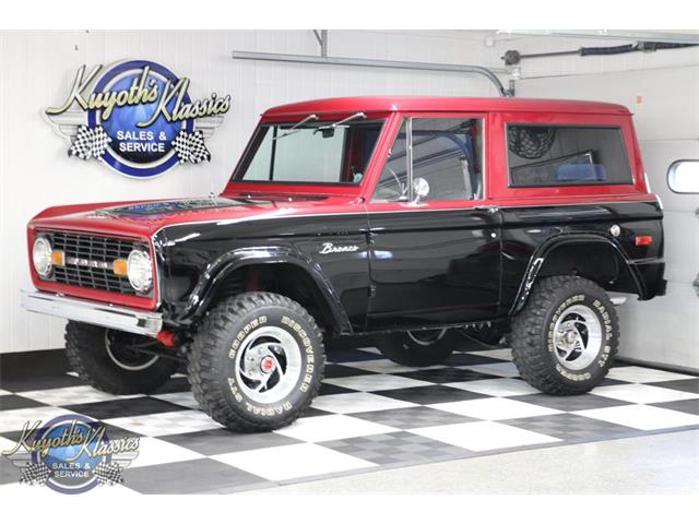 1969 Ford Bronco (CC-1431955) for sale in Stratford, Wisconsin
