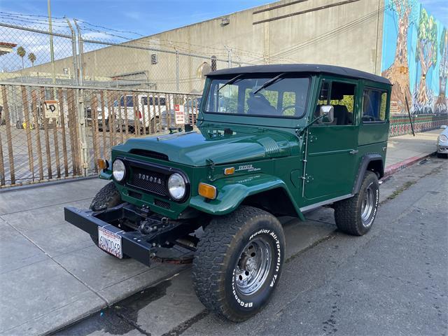 1970 Toyota Land Cruiser FJ (CC-1432026) for sale in oakland, California