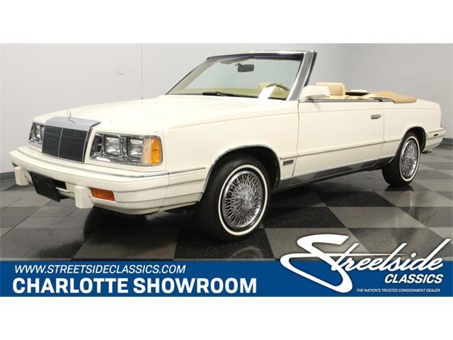 1986 Chrysler LeBaron (CC-1432074) for sale in Concord, North Carolina