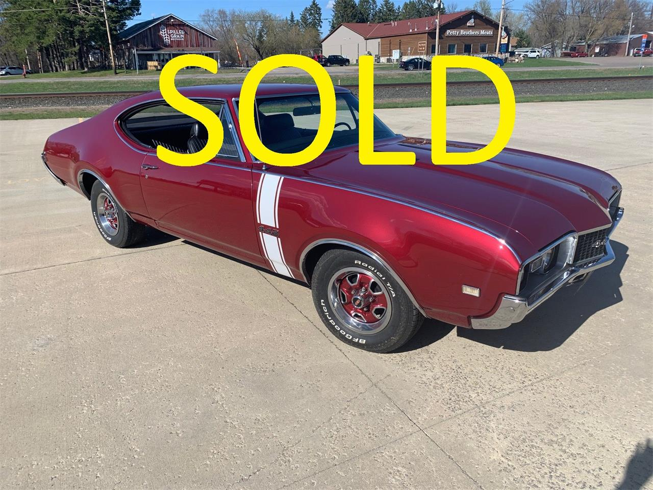 1968 Oldsmobile 442 (CC-1432171) for sale in Annandale, Minnesota