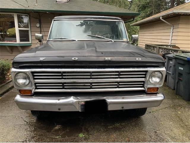 1968 Ford F250 (CC-1432189) for sale in Cadillac, Michigan