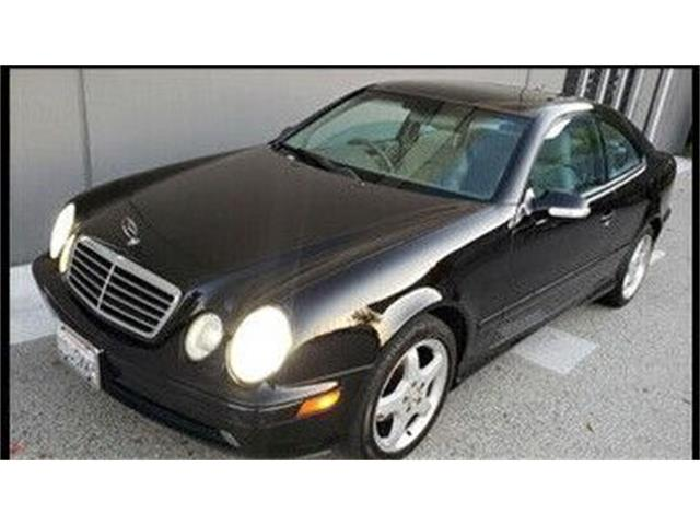 2002 Mercedes-Benz CLK430 (CC-1432191) for sale in Cadillac, Michigan