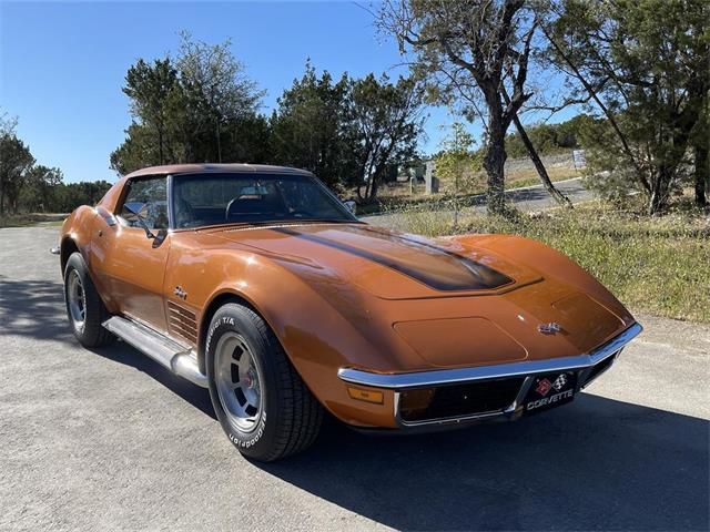 1972 Chevrolet Corvette Stingray (CC-1432338) for sale in Leander, Texas
