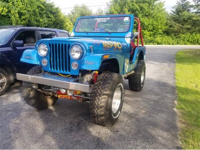 1976 Jeep CJ5 (CC-1432443) for sale in Cadillac, Michigan