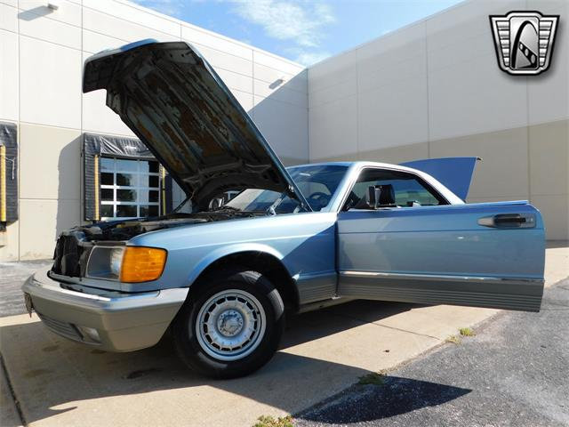 1985 Mercedes-Benz 500SEC (CC-1432522) for sale in O'Fallon, Illinois