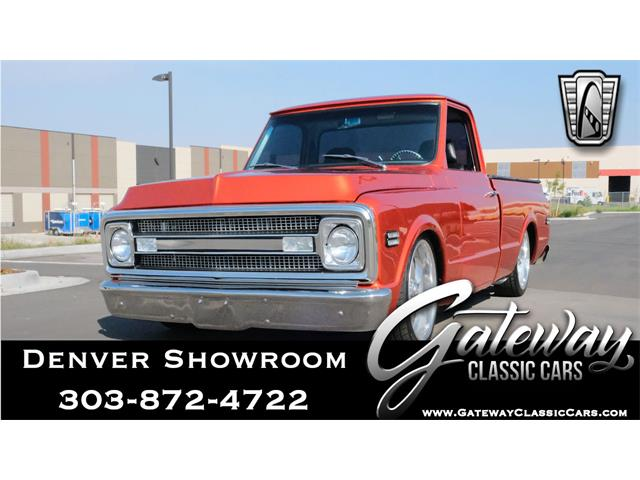 1969 Chevrolet C10 (CC-1432535) for sale in O'Fallon, Illinois