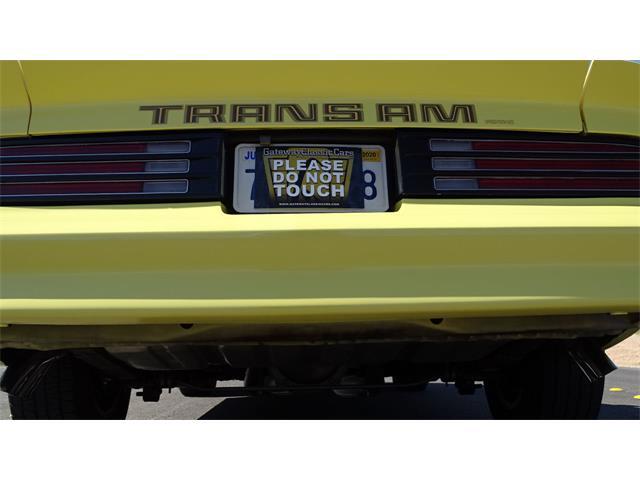 1978 Pontiac Firebird Trans Am (CC-1432614) for sale in O'Fallon, Illinois