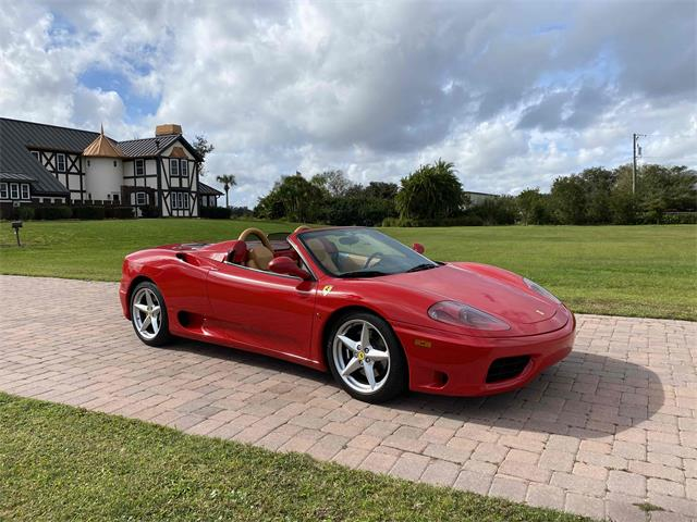 2001 Ferrari 360 F1 Spider (CC-1432663) for sale in Sarasota, Florida