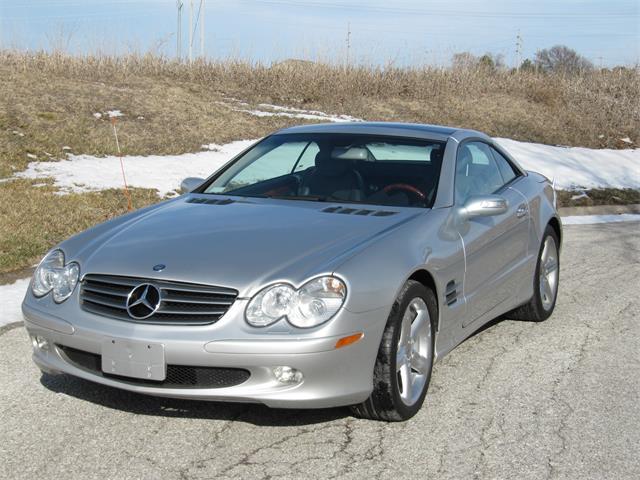 2004 Mercedes-Benz SL500 (CC-1432673) for sale in Omaha, Nebraska