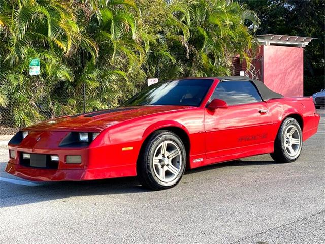 1989 Chevrolet Camaro (CC-1432850) for sale in Delray Beach, Florida