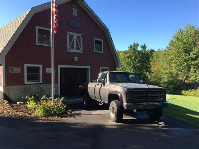 1986 Chevrolet K-10 (CC-1432902) for sale in Stratham, New Hampshire
