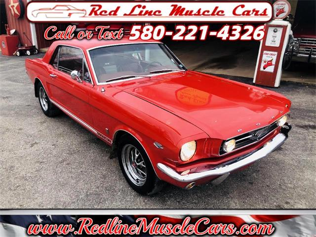 1965 Ford Mustang (CC-1433027) for sale in Wilson, Oklahoma