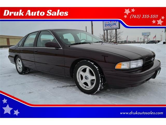 1996 Chevrolet Impala (CC-1433204) for sale in Ramsey, Minnesota