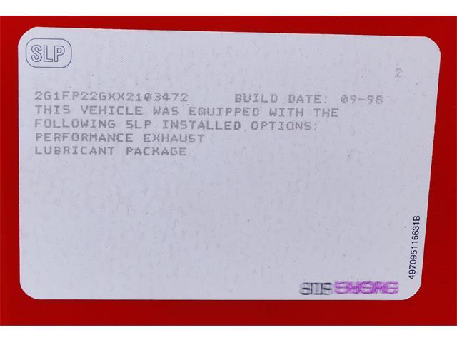 1999 Chevrolet Camaro SS Z28 (CC-1433277) for sale in Canton, Ohio
