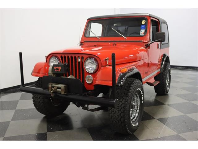 1984 Jeep CJ7 (CC-1433306) for sale in Ft Worth, Texas