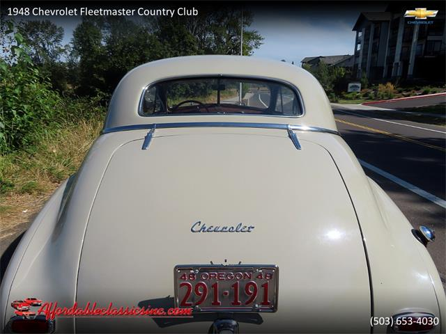 1948 Chevrolet Fleetmaster (CC-1433413) for sale in Gladstone, Oregon