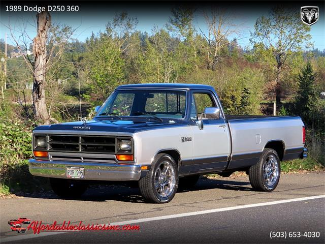 1989 Dodge D250 (CC-1433415) for sale in Gladstone, Oregon