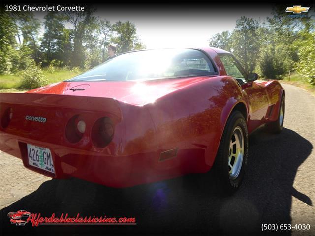 1981 Chevrolet Corvette (CC-1433431) for sale in Gladstone, Oregon