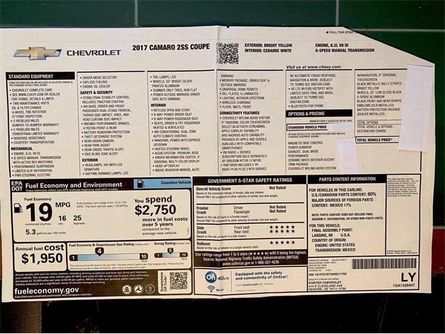 2017 Chevrolet Camaro (CC-1433458) for sale in Clarksburg, Maryland