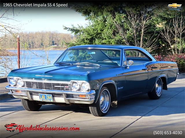 1965 Chevrolet Impala SS (CC-1433470) for sale in Gladstone, Oregon