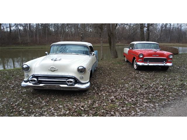 1954 Oldsmobile Starfire 98 Convertible (CC-1430349) for sale in New Lebanon, Ohio