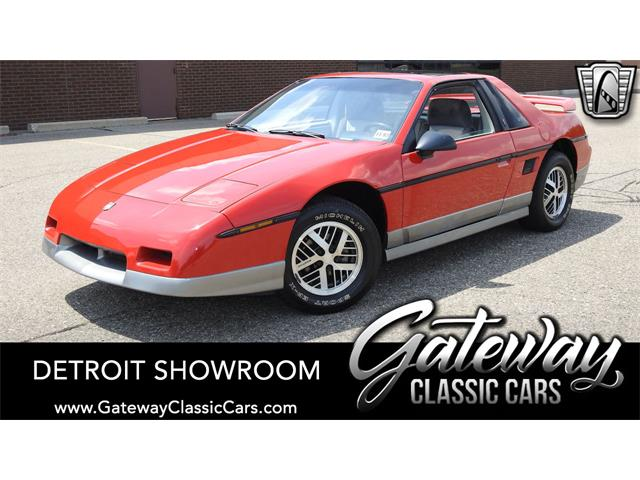 1985 Pontiac Fiero (CC-1433585) for sale in O'Fallon, Illinois