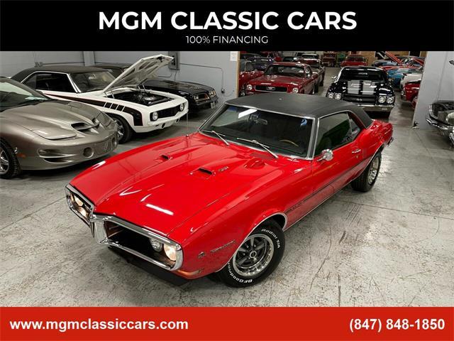 1968 Pontiac Firebird (CC-1433598) for sale in Addison, Illinois