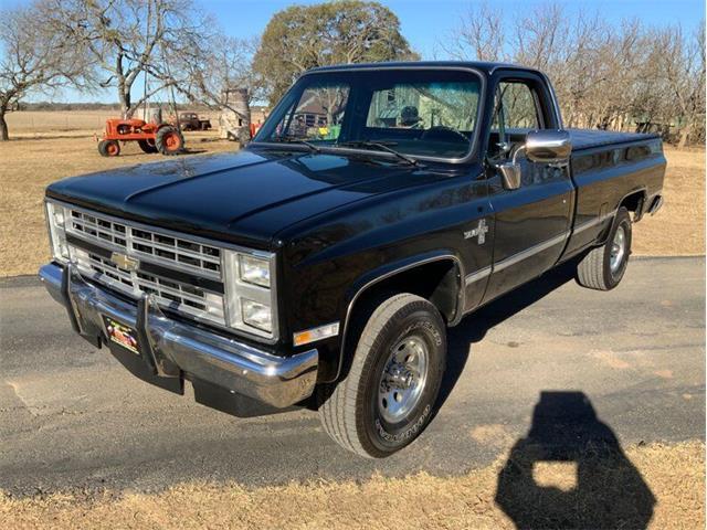 1985 Chevrolet C/K 10 (CC-1433603) for sale in Fredericksburg, Texas