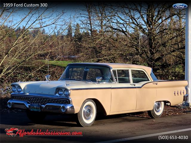 1959 Ford Custom 300 (CC-1433615) for sale in Gladstone, Oregon